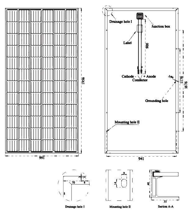 Солнечная батарея DAH Solar 345-365W